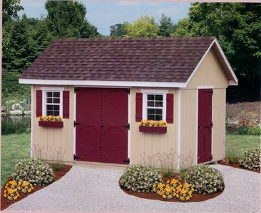 8 X 8 Plastic Storage Shed · Garden Shed Superstore